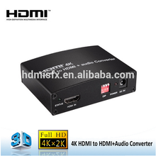 4K Hdmi To Hdmi + Rca L/r + Toslink Audio Extractor