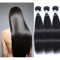 Wholesale Top Quality Silk Straight Remy Hair Unprocessed Virgin Brazilian Hair Extension