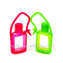 Promotional hand sanitizer gel / silicone bottle holder