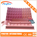 plastic cover roof sheet/garage factory shed/synthetic resin roof tile