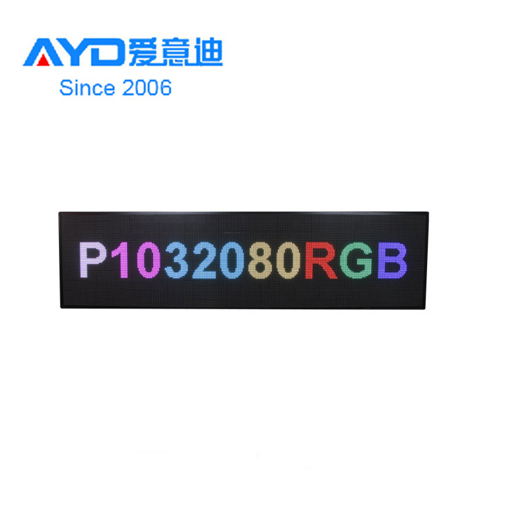 Waterproof Outdoor <strong>P10</strong> RGB LED <strong>Advertising</strong> Display Board LED Open <strong>Sign</strong> Made In Dongguan