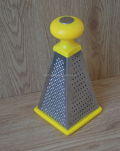 Stainless steel 4 sides 8 inch cheese grater and vegetable slicer for cooking tools