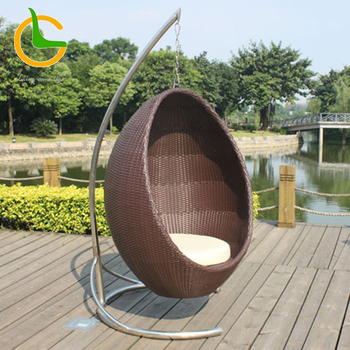Europe type style comfortable simple cozy fabric rattan easy clean to buy egg chair ,elegant design handmade leisure cheap chair