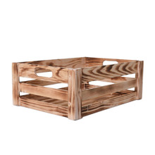 New products Antique wooden crates&boxes use for Christmas day gift packaging