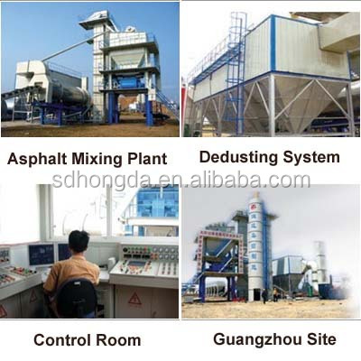 Excellent Performance! 80T/h LB1000 Asphalt Mixing Plant