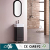 high gloss black finish bathroom vanity