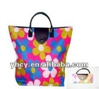 Polyester 600D Foldable Shopping bag for Promotion
