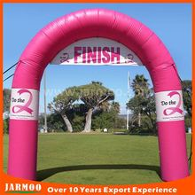 active atmosphere attractive advertising inflatable finish line arch for sport