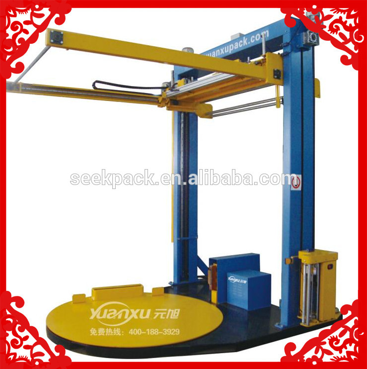 pallet wrapping machine collar hinge wrapping machine