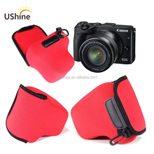 Cute neoprene soft Waterproof DSLR Cases Free Inspection Camera Bag for Nikon