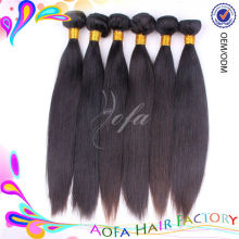 Top quality AAAAAA grade factory wholesale 100% remy brazilian straight hair