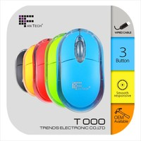2013 Best Wired Optical Mouse Fantech FT000 Very Cheap Mouse
