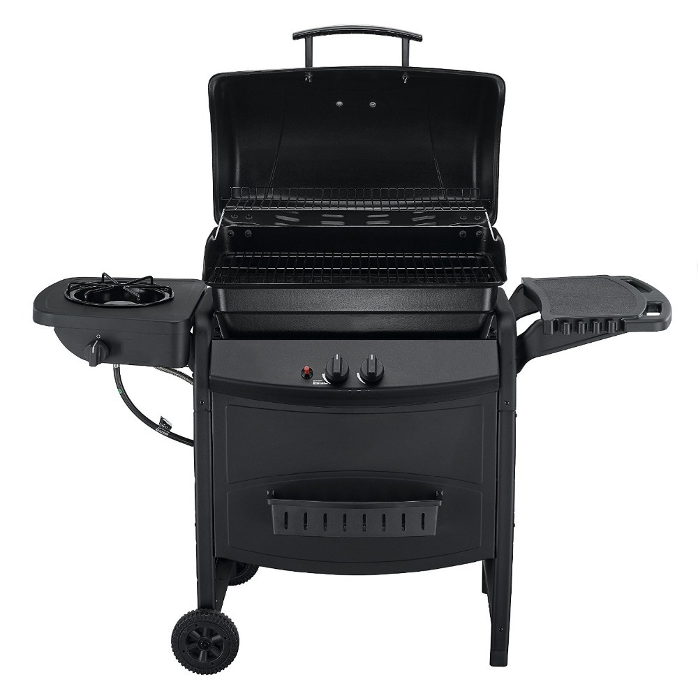 2 burner bbq barbecue propane gas grills with side burner