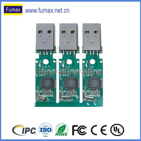 bluetooth mp3/mp4 speakers pcb board with usb pcb assembly fabrication supplier from Shenzhen