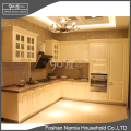 Super high quality stainless steel cabinet PVC kitchen cabinet with glass door