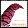 Fuchsia Pheasant Tail Feather