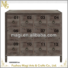 cheap countryside indoor furniture antique decorative wooden cabinet