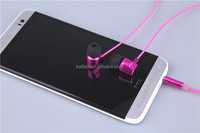 High quality New products in-ear wired earphone for all brand mobile phone