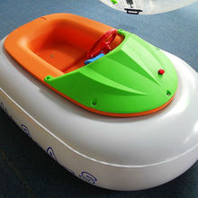 Summer Playing Inflatable Bumper Boat with Swimming Pool, Inflatable Kids Boat for Sale