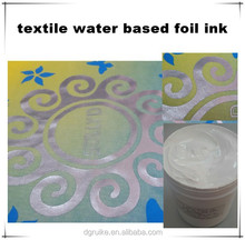 screen printing type water-based foil ink with good fastness and factory price