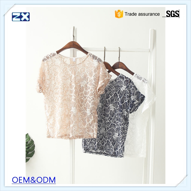 new products 2017 blouses blouse made in China ladies office wear