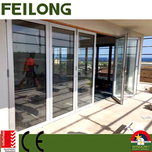 3 Sashes Aluminum Sliding Bi Folding Door With AS2047 Australia Standard