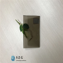 Shenzhen factory price 4mm bronze float glass