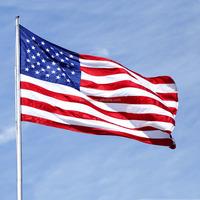 Homdox American Flag Flag USA US U.S.Sewn Stripes Embroidered 3 x5/4 x 6/5 x 8 FT