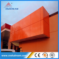 HIGH Performance Aluminum Corrugated Composite Panel fireproof ACP
