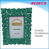 New product decorative polyresin photo picture frame
