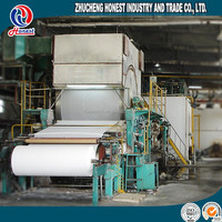 787 Type Best Performance Mini Small Toilet Paper Making Machine For Waste Paper