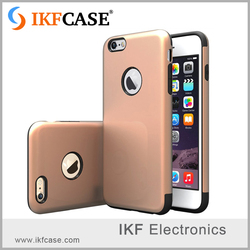 Luxury fashion 2 in 1 dual layer rugged design shockproof protective armor phone back cover for iPhone 4S