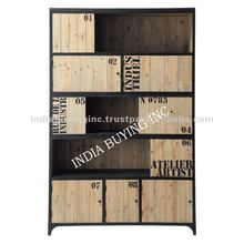 industrial indian rough wood furniture