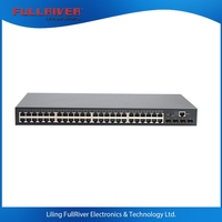 Managed 48 52 Port Gigabit Industry Ethernet Switch with4 SFP fiber Switch