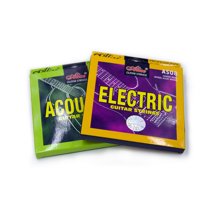 Brand Alice guitar strings packaging