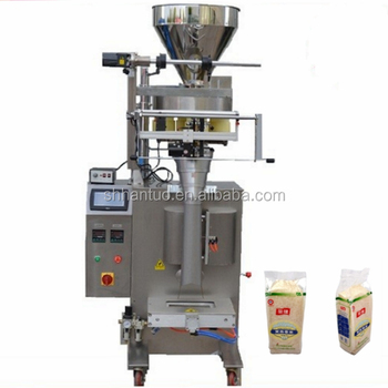 The Price For Rice Packing Machine / Pillow Bag Rice Packing Machinery