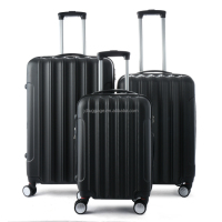 BEIBYE 2050 Black Cheap Travel Luggage