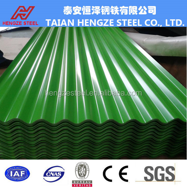 0.47 mm 0.5mm 0.7 mm thick Galvanized Aluminium Colour Corrugated Steel roofing sheet