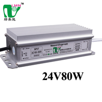 80w Electrical Equipment Led Power Supply