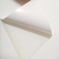 PP Sticker Vinyl Self Adhesive Clear Plastic Film In Sheet