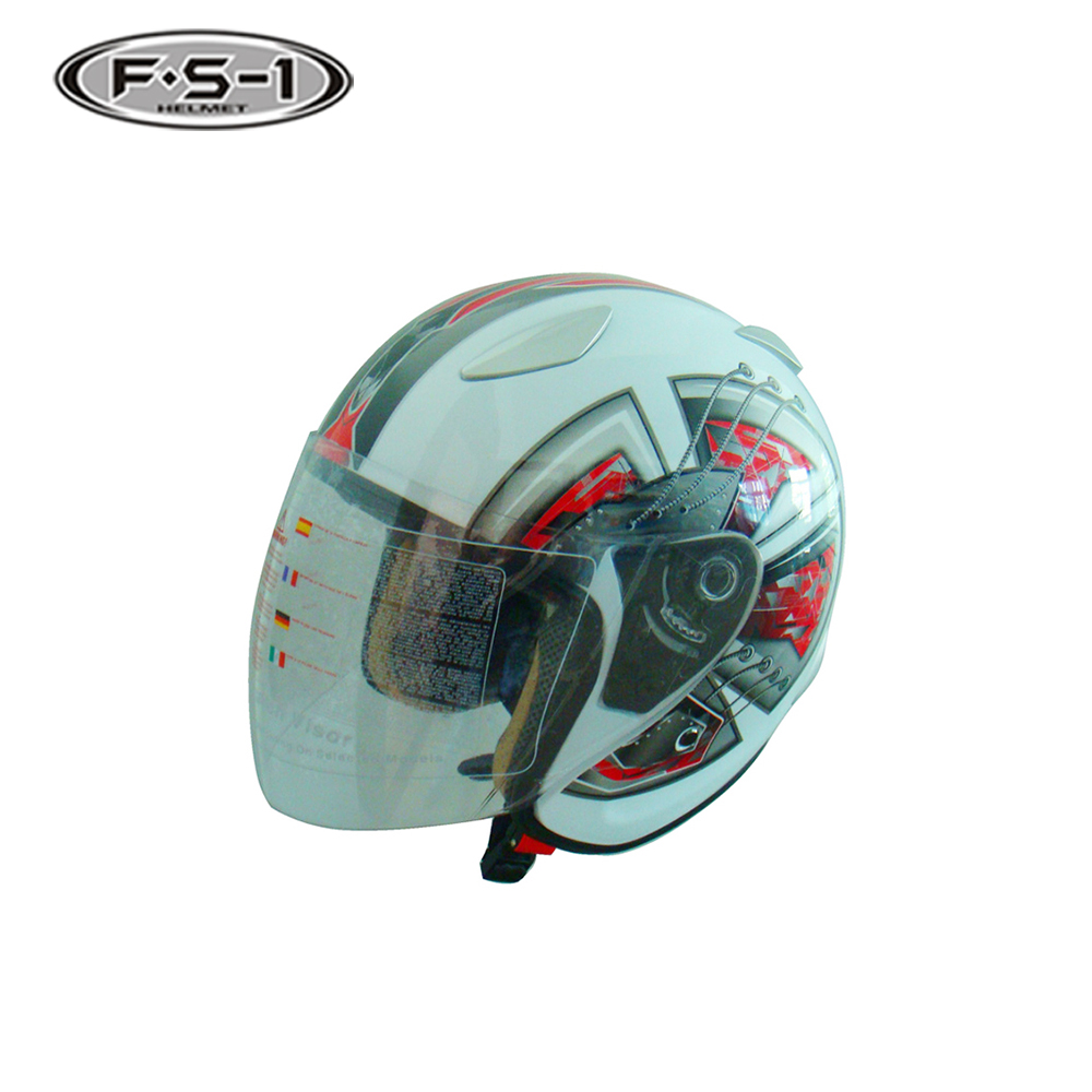 DOT certificate ABS material full face motorcycle helmets for open face motor cycle helmet price