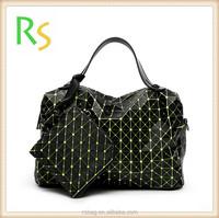 Eco friendly new arrivals 2 in 1 discount Shoulder Bag Style geometric tote bag Messenger Purse handbag