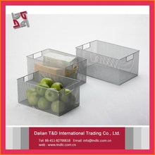 mesh box wire cage metal bin storage container