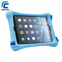 Heavy Duty Silicone Case for iPad Air Air2 Pro New iPad With Loud Speaker Fuction and Stand Function