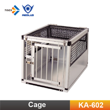 KA-602 Economical Pet Travel Cage Aluminum Foldable Car Dog Cage Travel Kennels