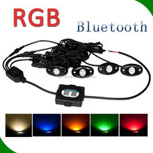 New Rock lights 2 inch Led Tail Dome Light Five Colors Rigid Led Side Marker Lamp Rock Light