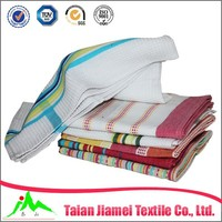 kitchen textile cotton Jacquard tea towels in USA market