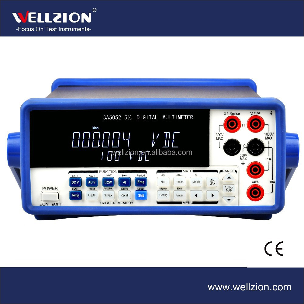 SA5052,Multimeter with True RMS,bench-type digital multimeter,scope digital multimeter