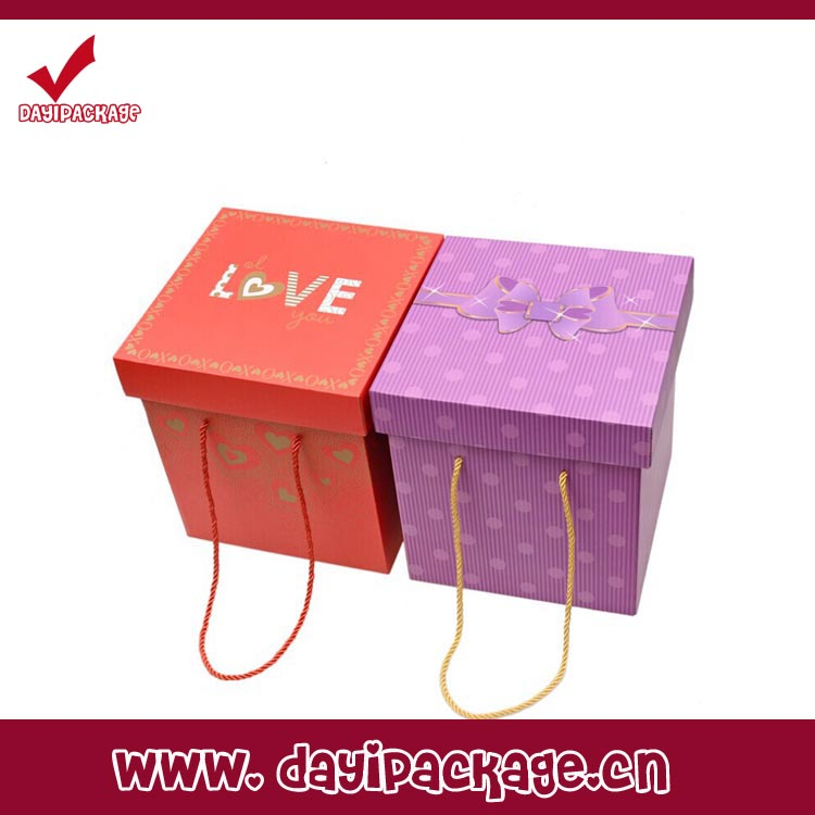 Paper box packaging gift box