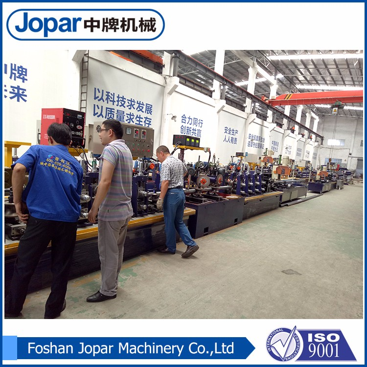Stainless steel 304 furniture galvanized steel coil pipe production line